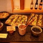 森のレストラン - 前菜 ビュッフェ