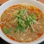 点点 - ・「陳さんの麻婆豆腐とミニタンタンメンセット (¥950)」のアップ②。