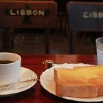 リスボン珈琲店 - 珈琲とトースト