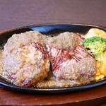 ステーキ。山 - ビッグステーキ・ハンバーグ
