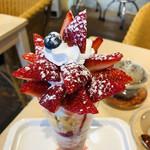 フルーツカフェ タマル - テッテレ〜♡いちごのお花が咲きました〜♡