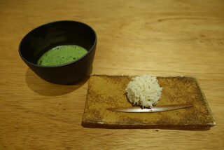 嘯月 - 生菓子とお抹茶