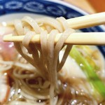 京橋 紅葉川 - お蕎麦も美味