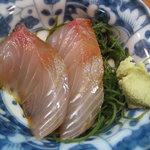 天ぷら丸中 - お刺身
