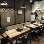 ジャンルにとらわれない飲食店 セカンドらいふ - 人数に合わせて席変動可能です!