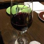 炭焼きイタリアン酒場 炭リッチ - 赤ワイングラス
