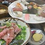 Bote - 極み握り¥2000、贅沢三昧丼¥1200