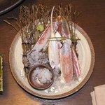 Shourenkanyoshinoya - 間人カニの刺身