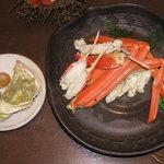Shourenkanyoshinoya - 間人カニの茹でカニ