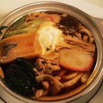 ぼんちょう - 鍋焼きうどん750円
