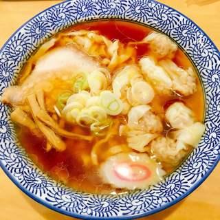 打ちラーメン 清仁軒 - 料理写真:醤油ワンタン 870円