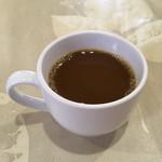 レストラン香港 - サービスの食後のコーヒー('19/01/25)