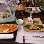 100702903 - 夜ごはんの懐石料理