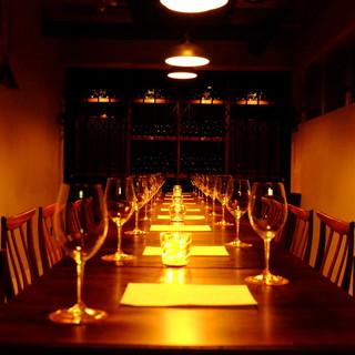 最後の晩餐のような形での貸切も出来ます。
