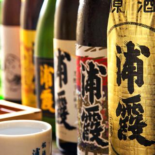 「浦霞」と言えば樽一!100種を超える諸国銘酒あり