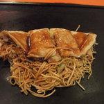 お好み焼だるま - 豚玉麺入り703円