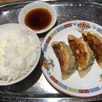 100711061 - 餃子定食