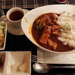 ガスライト - ガスライトセット(サラダスープ付き〕¥700-