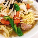 食道楽 - 味噌野菜ラーメン(タンメン・味噌)