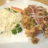くまねこ食堂 - 料理写真:ざんぎねぎソース定食800円 ライス-150円引き