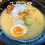 我流 らーめん道 王様の島 - 料理写真:鶏白湯