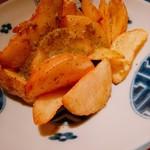なっぱjuicy - アンチョビポテト