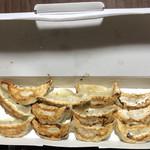 餃子の王将 - 料理写真:餃子2人前テイクアウト 237×2=474 箱代10円で484円税込価格