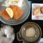 ちづる - 料理写真:アジフライ定食650円