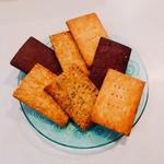 クネクネ - 料理写真:煎餅に迫るビジュアル