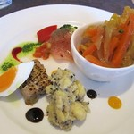 GATTA NERA - ランチセット(ローマ)の前菜