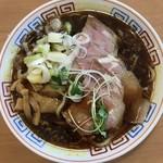 サバ6製麺所 - サバ醤油半チャン950円