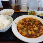 四川麻婆専家 辣辣 - 麻婆豆腐セット 700円