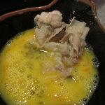 黒豚料理 あぢもり - 玉子も美味い!