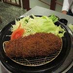 黒豚料理 あぢもり - 六白黒豚のとんかつ(ロース)