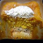 10073950 - 断面(かぼちゃのベイクドチーズ)