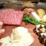 100732120 - 肉、野菜ビフォアー