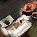 石道温泉 - 料理写真: