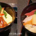 うお鉄 - 海鮮丼。魚鉄本店(愛知県碧南市)食彩品館.jp撮影