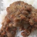 びびび食堂 - 納豆ご飯