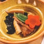 鮨・割烹 花絵巻 - 博多がめ煮(^^)