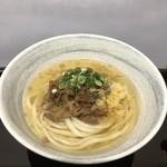 うどん庵 霧乃 - 肉うどん|490円