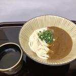 うどん庵 霧乃 - カレーうどん|490円