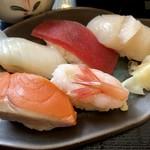 たけや - セットの寿司