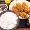 味の関所 - 料理写真:カキフライ定食1200円 冬季限定で10月からのメニュー