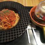 Italian Cafe AJITO - ボロネーゼ(+セットのサラダ)