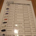 Italian Cafe AJITO - SLACK価格表