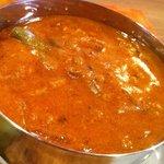 カフェアンドレストラン パハナ - ポーク・トマト&野菜のカレー