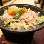 伊豆長岡温泉 ホテル天坊 - 夜の宴会 タジン鍋