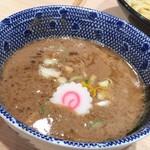 頑者製麺所 - つけめんのスープ