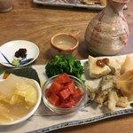 100751544 - 手造りおまかせ野菜料理  7種!